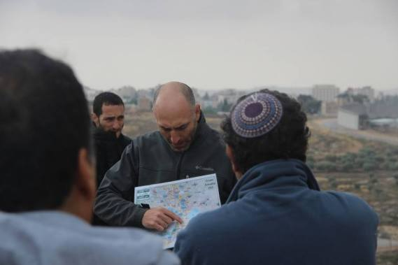 Tour of East Jerusalem for the Be'eri Program for Pluralistic Jewish-Israeli Identity Education of the Shalom Hartman Institute